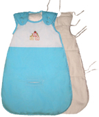SilkSac, silk filled baby sleeping bag