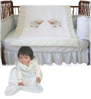 baby crib bedding set with baby sleeping bag